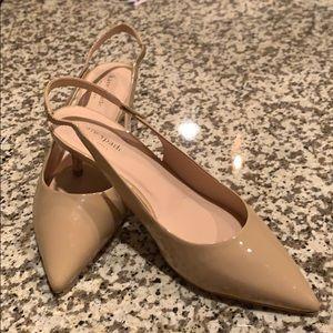 Kate Spade Patent Leather Slingback Shoes- Sz 8